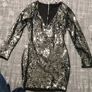 Forever 21 Sequined Dress